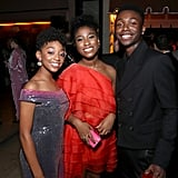 Pictured: Eris Baker, Lyric Ross, and Niles Fitch