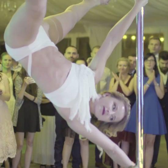 Bride Pole Dances at Wedding | Video