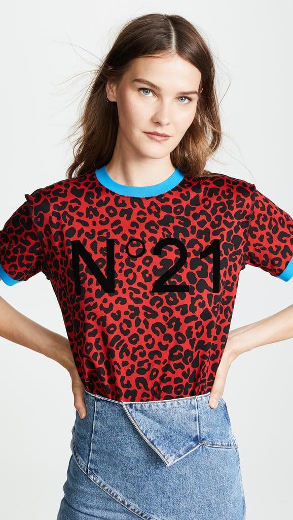 No. 21 Leopard No. 21 T-Shirt