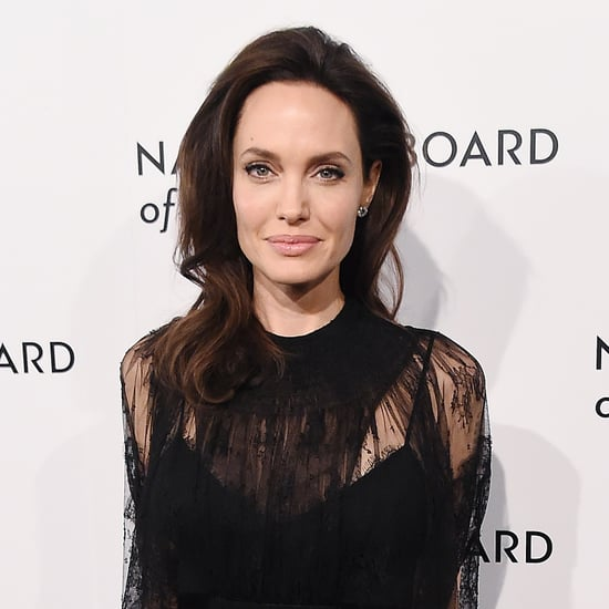 Angelina Jolie Sat Next to a Hollywood Chris, and People Read Into It