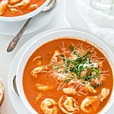 Slow-Cooker Tomato Basil Tortellini Soup