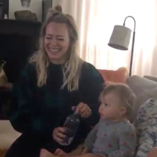 Hilary Duff Watches The Lizzie McGuire Movie With Her Kids