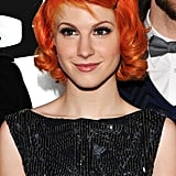 Hayley Williams's Orange Hair and Baby Bangs
