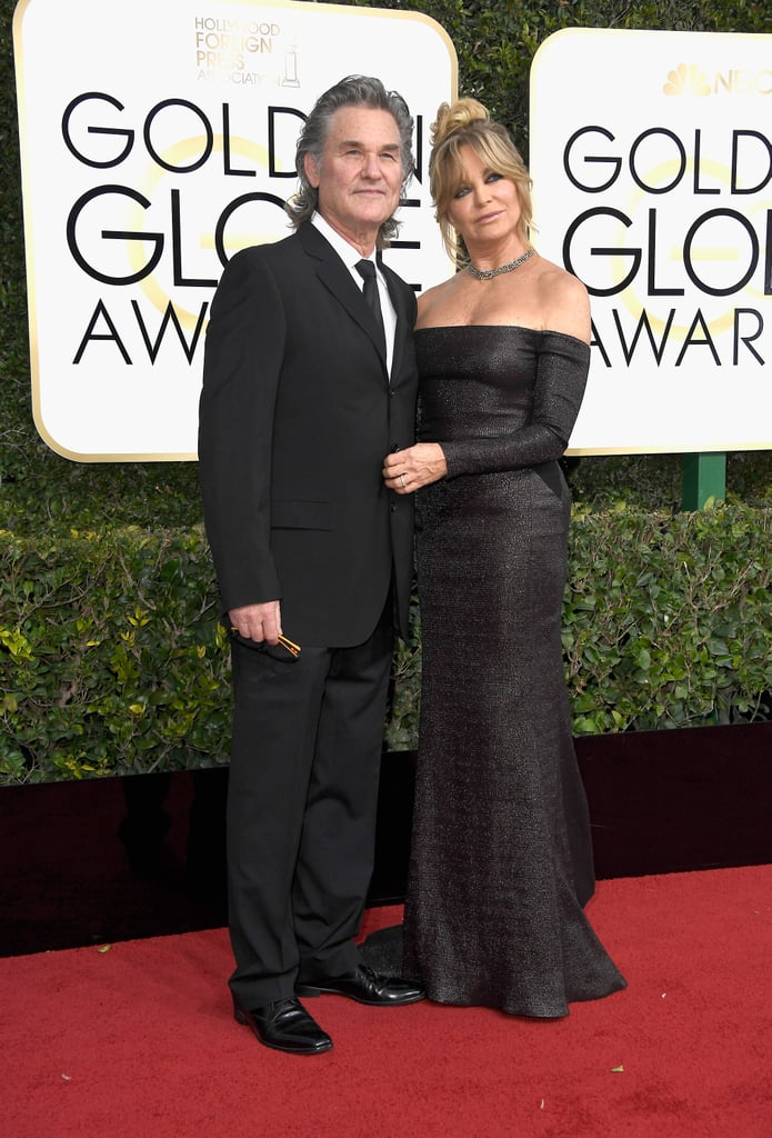 Goldie Hawn and Kurt Russell Flaunt Their Three Decades-Long Romance at the Golden Globes