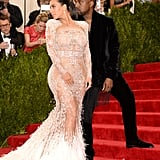 Kim Kardashian and Kanye West at the Met Gala 2015 | Photos