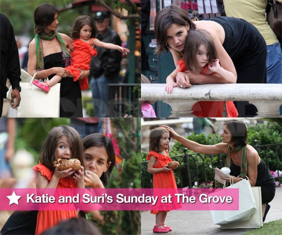 Katie and Suri's Sweet Sunday at The Grove