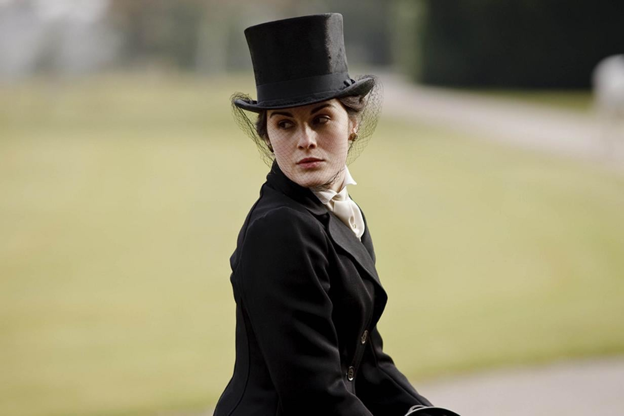 Rules dictated not only that women changed outfits for every occasion, but also that they updated their hairstyles accordingly. Between riding, sitting for tea, and having dinner, a woman like Mary could spend hours getting dressed and coiffed each day.  Source: ITV