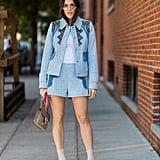 Elongate Legs With Nude Sock Booties