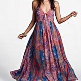 Free People Unattainable Open-Front Halter Maxi Dress ($198)