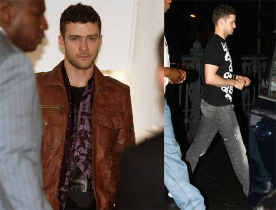 Photos of Justin Timberlake in Germany, Quotes Speaking About Being Lucky to Know Michael Jackson