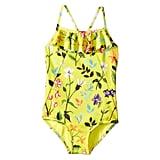 Oscar de la Renta Childrenswear Springfield Ruffle Swimsuit