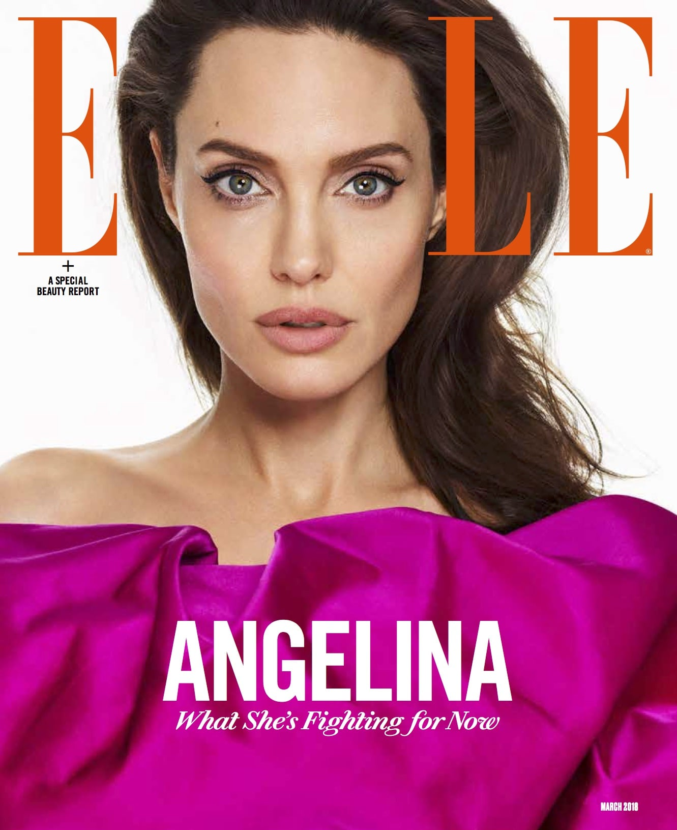 Angelina Jolie Quotes About Her Daughters Elle March 2018