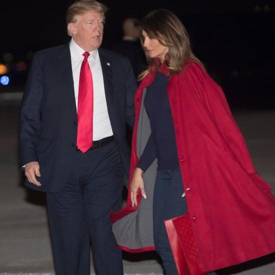 Melania Trump Red Maison Ullens Coat