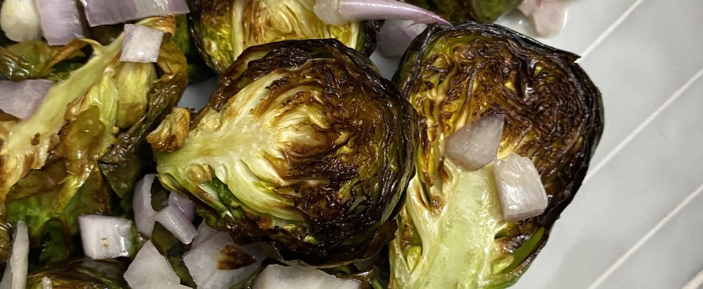 Air Fryer Brussels Sprouts Recipe and Photos