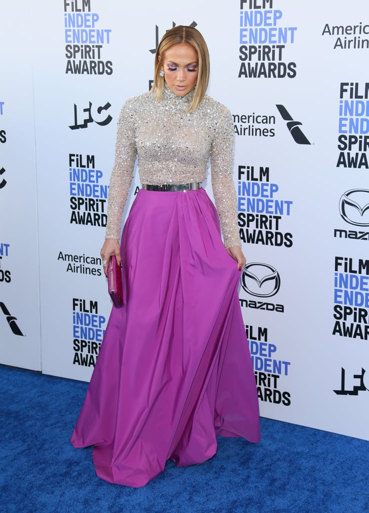 Jennifer Lopez Film Independent Spirit Awards Outfit