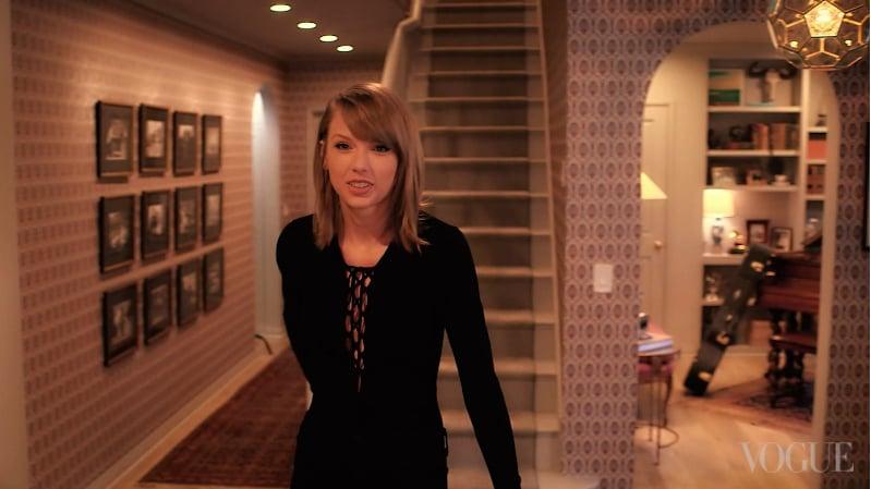 Vogue Tours Taylor Swift S La Home Popsugar Home Australia