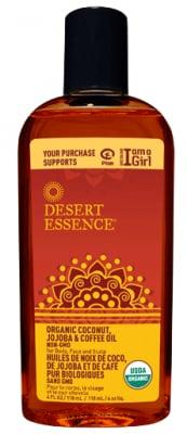 Desert Essence Coconut Jojoba & Coffee Oil