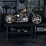 """Indian Larry's """"Wild Child"""" Motorcycle"""