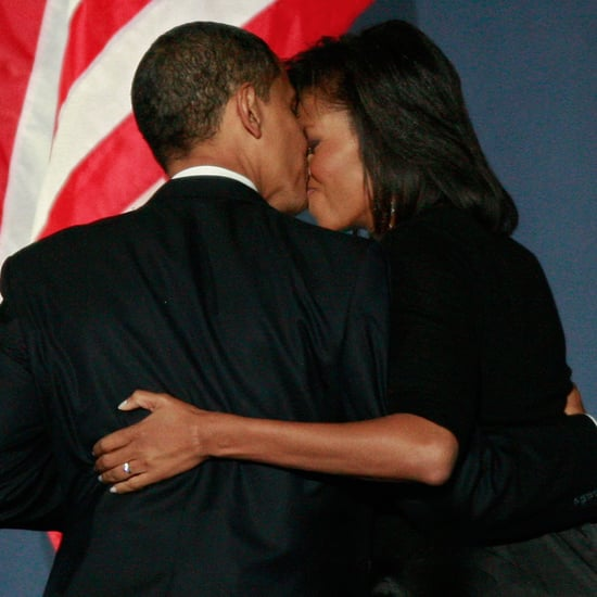 Barack Obama's 2008 Election Night Pictures