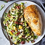Pear, Bacon and Brussels Sprout Salad