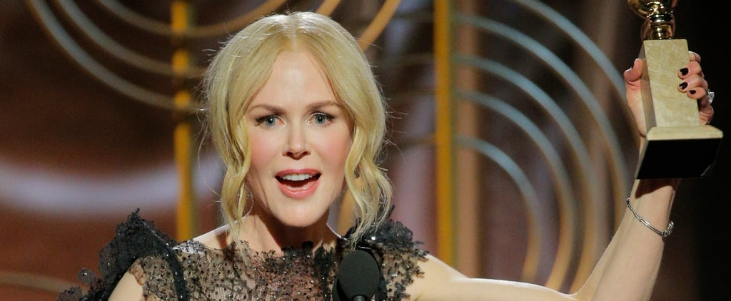 Nicole Kidman Acceptance Speech at 2018 Golden Globes