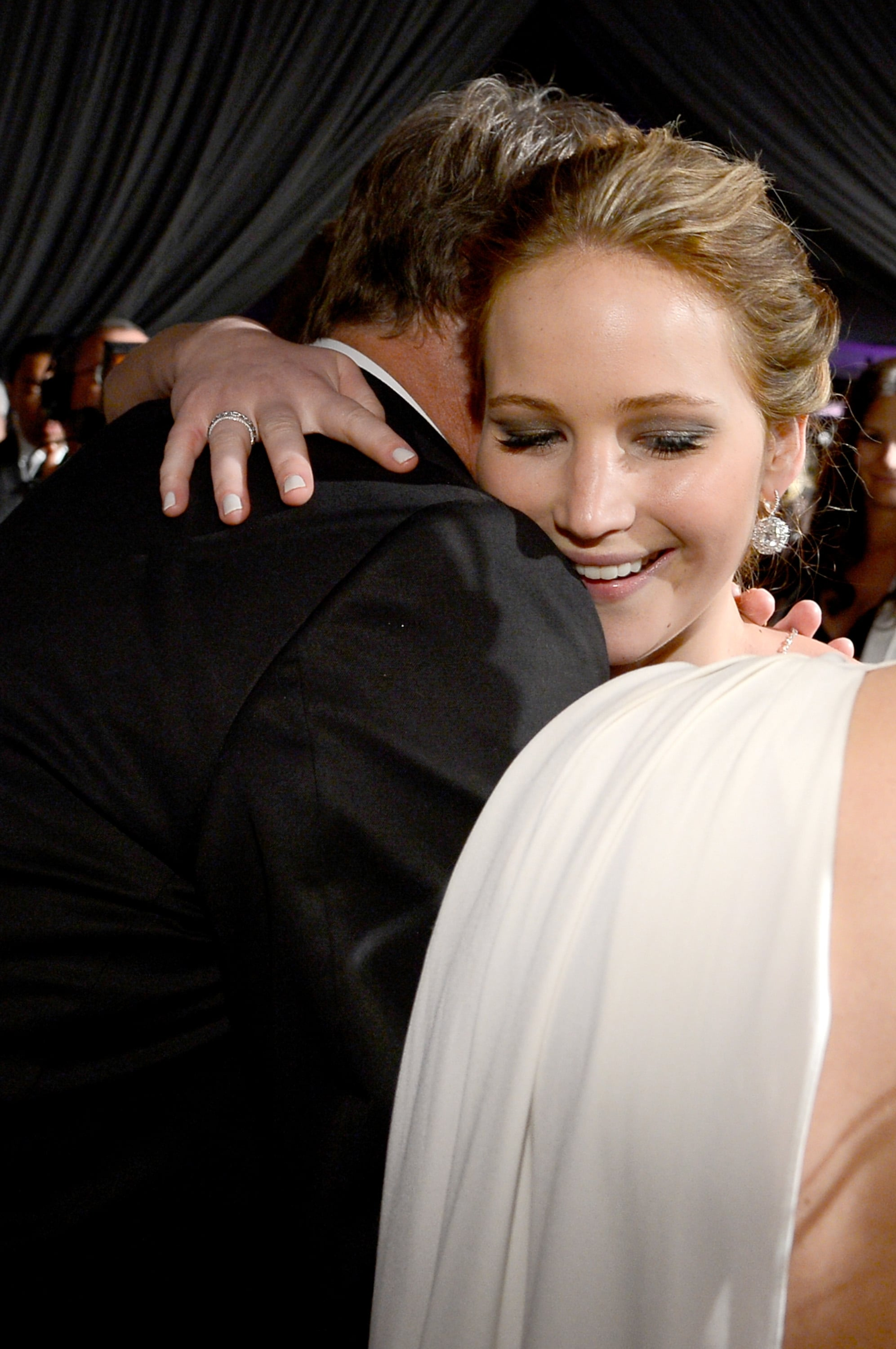 Jennifer Lawrence attended the Governors Ball.