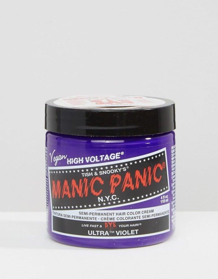 Manic Panic Semi-Permanent Hair Color Cream in Ultra Violet