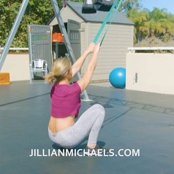 Jillian Michaels Instagram Workout