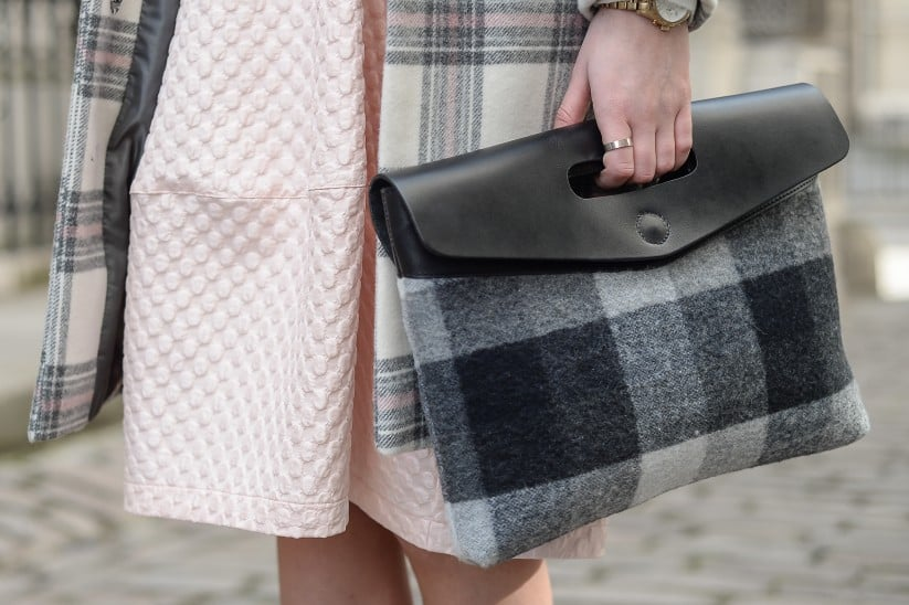 The perfect way to play plaid on plaid. Source: Gorunway
