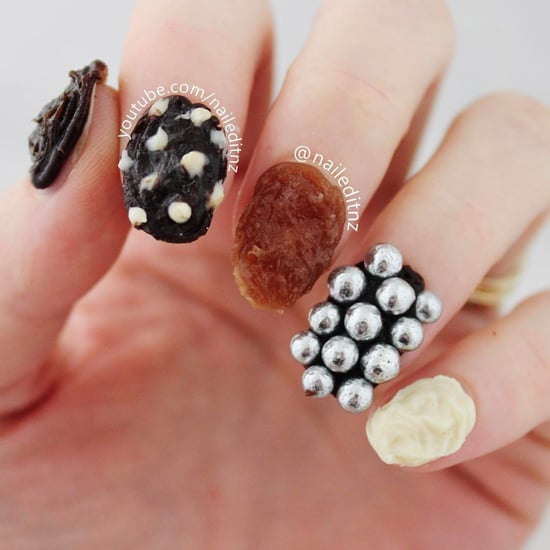 Edible Chocolate Nail Art