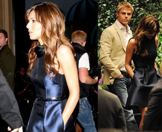 Pictures of Cheryl Cole and Derek Hough Out For Dinner Together