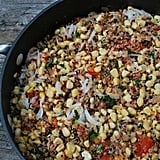 Corn and Manchego Quinoa Salad
