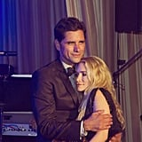 "John Stamos shared a ""special picture"" of himself with Ashley Olsen after the Full House cast reunited for his 50th birthday. Source: Instagram user johnstamos"