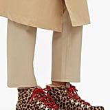 Montelliana Marlena Leopard-print Calf-hair Après-ski Boots
