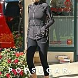 Selena Gomez's White Puma Sneakers