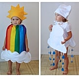 Rainbow and Rain Cloud Costumes