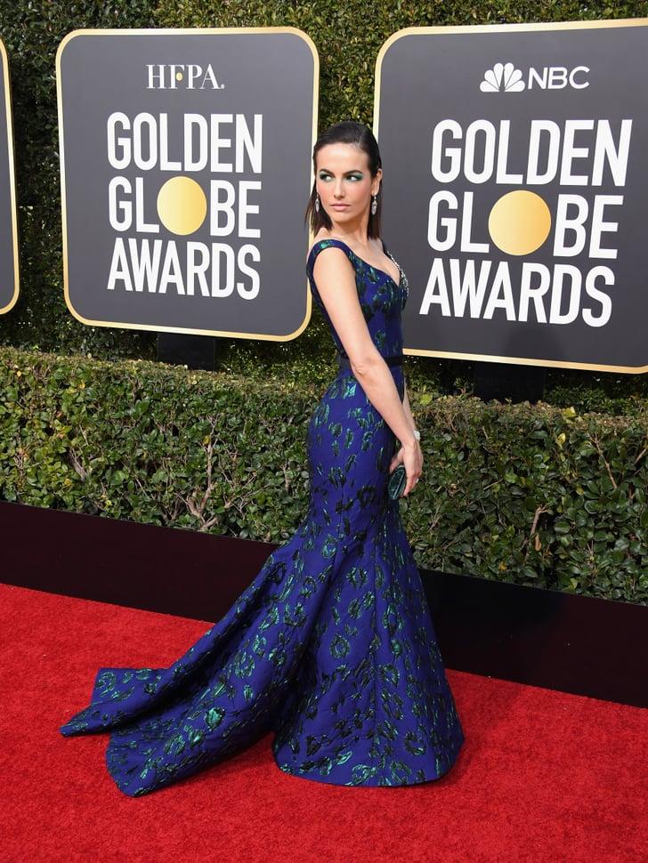 Red carpet dresses golden globes 2019 ladies newborn