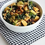 Kale, Almond and Shredded Veggie Salad