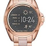 Michael Kors Access Bradshaw Rose Goldtone Stainless Steel Touchscreen Smartwatch ($375)