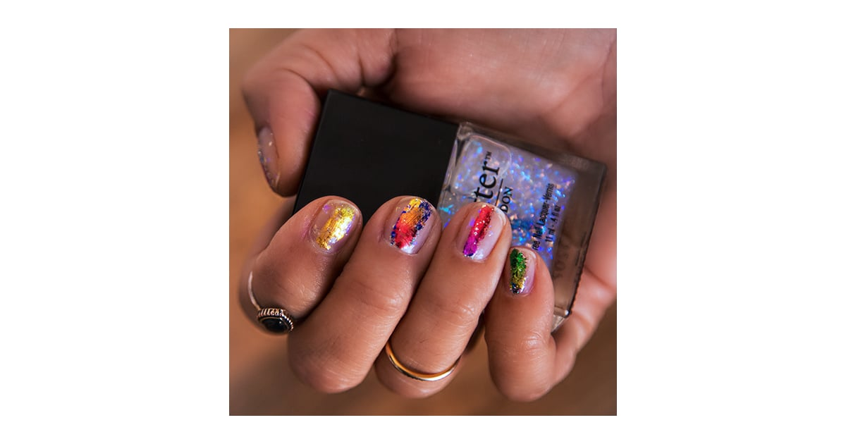 Nail Art Foil Tutorial | Video | POPSUGAR Beauty