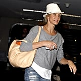 Cameron Diaz Arrives in the Big Apple For a Rendezvous With ARod