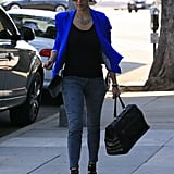 Jessica Alba Dresses Up For a Daytime Outing