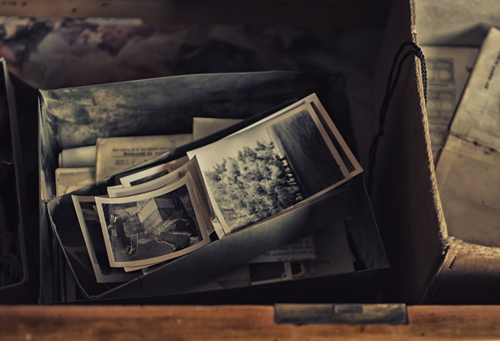 Bury a time capsule.