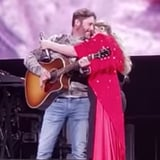 Kelly Clarkson's Husband Surprises Her During Performance