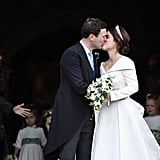 Princess Eugenie and Jack Brooksbank First Kiss Pictures
