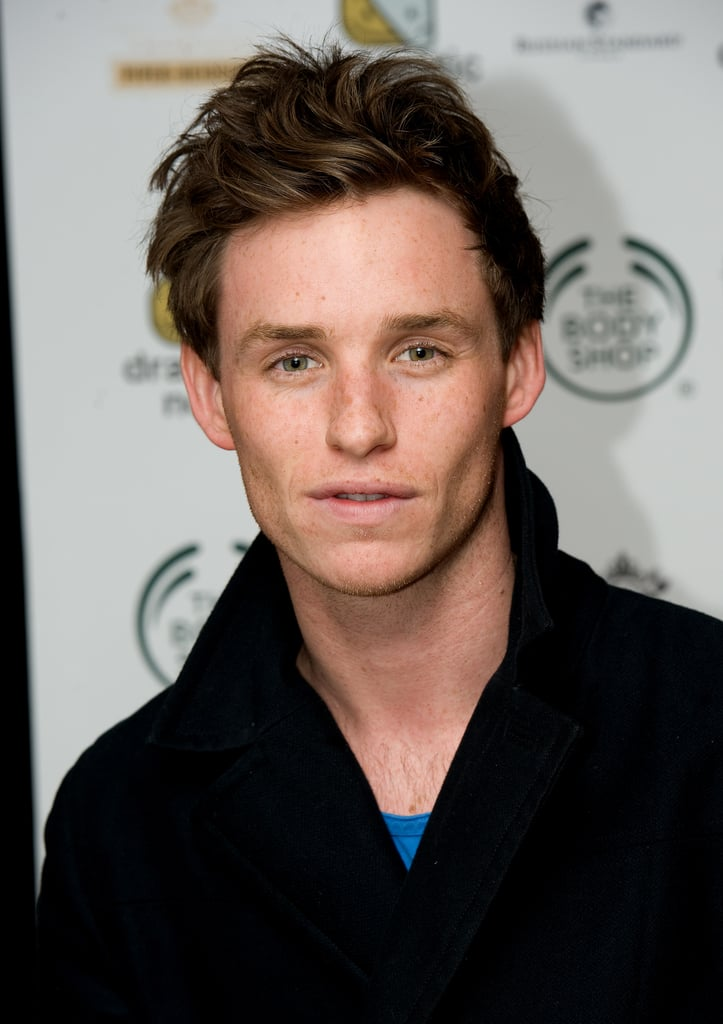 Eddie Redmayne is more than just a charming Brit and talented actor; he's also really, really, ridiculously good looking. He may be off the market now, but in his latest film, The Theory of Everything, we can all still catch a piece of him. The movie has been well-received, and fans are already placing their bets on Eddie's chances of nabbing an Oscar nod for his haunting portrayal of Stephen Hawking.  While we're thrilled that his professional talents are getting well-deserved attention, we thought it was time to remind you why you originally fell in love with Prince William's former schoolmate — his stop-you-in-your-tracks handsomeness. Keep reading for the most painfully good-looking snaps of Eddie that we could find, and be sure to check out our interview with Eddie too!