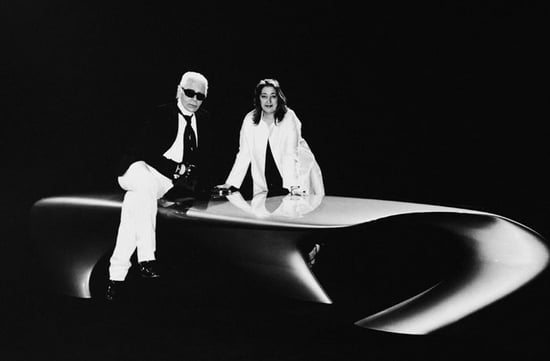 Fab Flash: Karl Lagerfeld and Zaha Hadid Join Forces