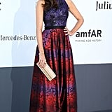 Louise Roe at the amfAR gala in Cannes.
