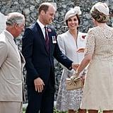 Duke and Duchess of Cambridge in Belgium July 2017