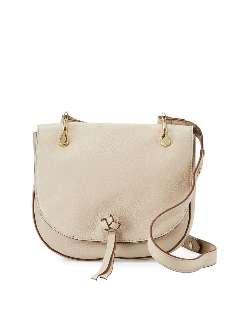 6515be32fb With a bag as chic as Elizabeth and James Zoe leather saddle bag ( 395)
